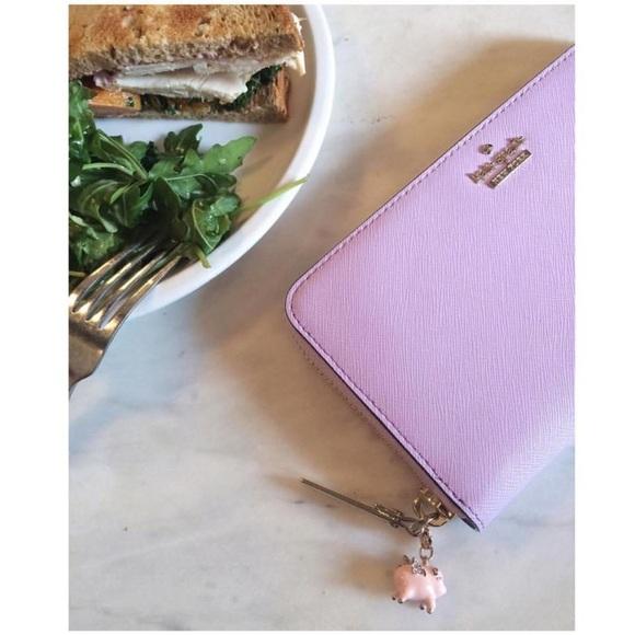 kate spade Handbags - Kate Spade Purple Leather  Wallet